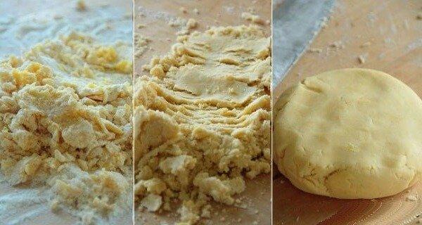 Рецепт песочного теста Сабле.