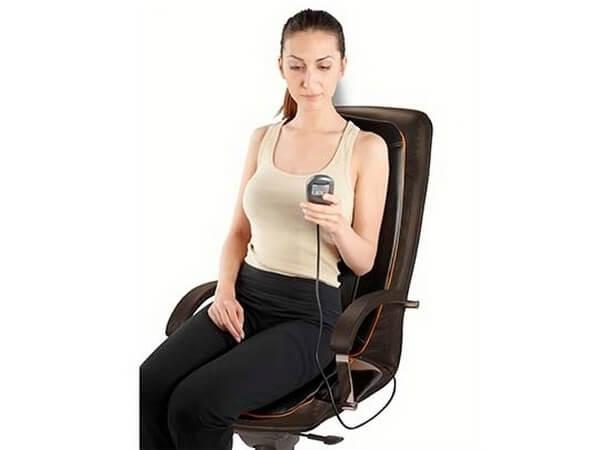 Самомассаж каждый день – массажная накидка на кресло.