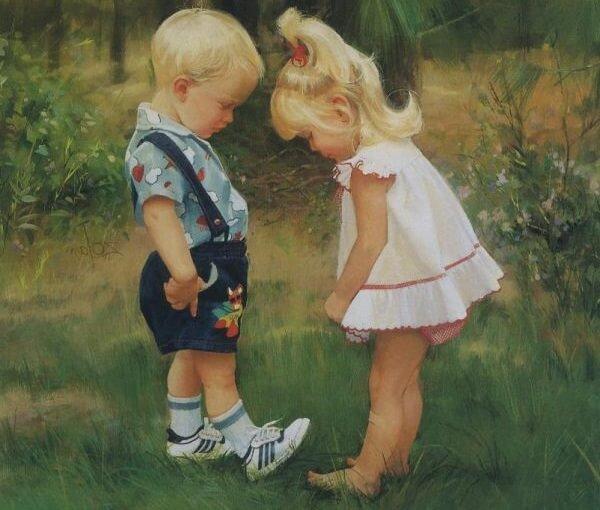 "Картина ""Детки""."
