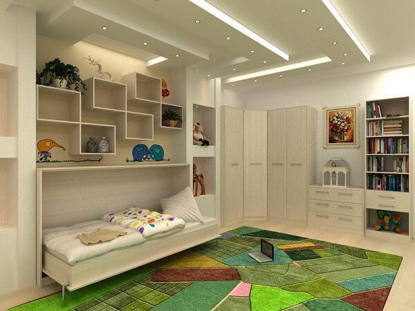 Встраиваемая мебель в детской комнате фото 2