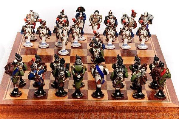 Атрибутика шахматиста. Шахматы Бородоно.