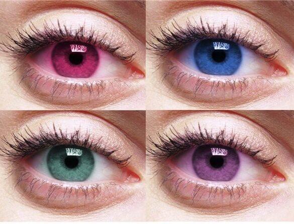 Как изменить цвет глаз без линз, линзами, операцией.