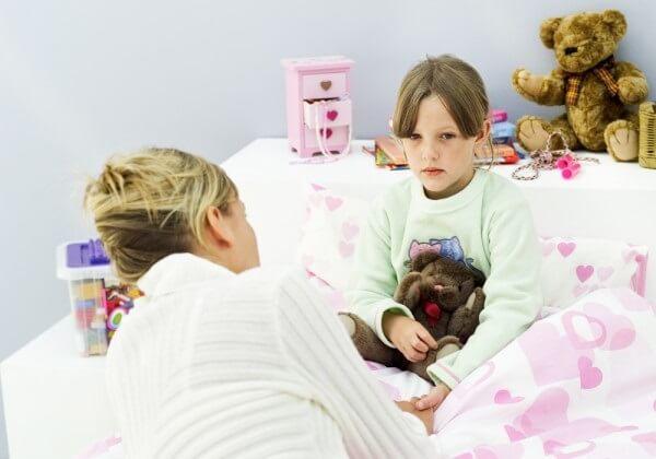 Причины ночного энуреза у детей.
