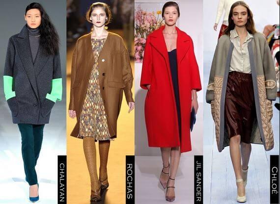 С чем носить пальто oversize и с чем сочетать?