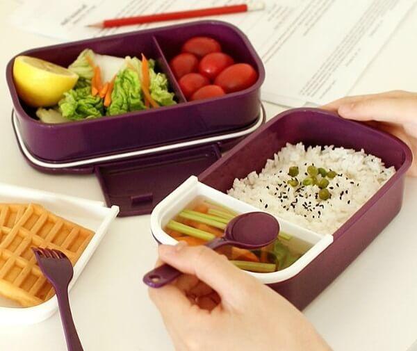 Полноценный обед школьнику с собой.