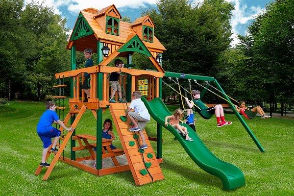 Игровые детские площадки влияют на развитие детей!