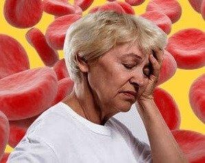 Головная боль при анемии.