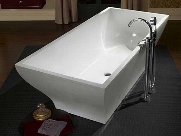 Лучшие модели ванн из кварила Villeroy Bosh La Belle.