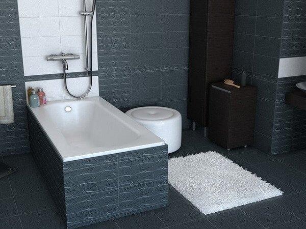 Лучшие модели ванн из чугуна Roca Continental.