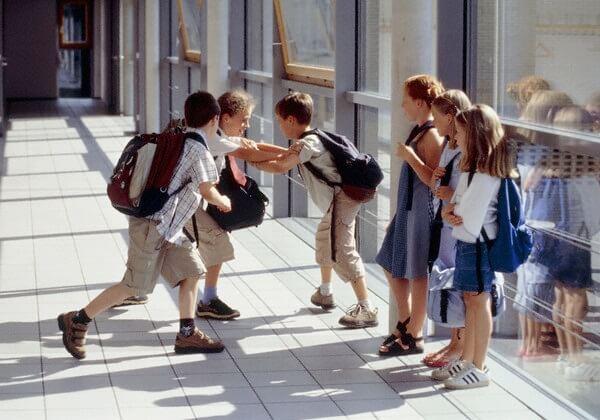 Моббинг в школе.
