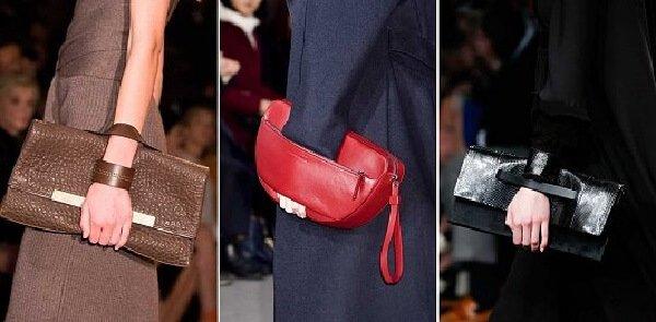 Модные женские сумки клатч и аксессуары 2017.