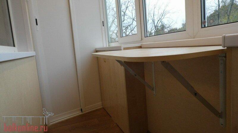 Совмещение балкона с комнатой - фото и видео советы.