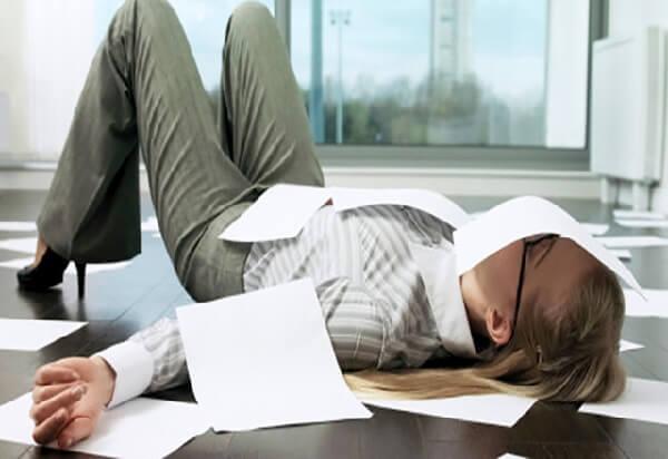 Как не уставать на работе и как этому научиться?