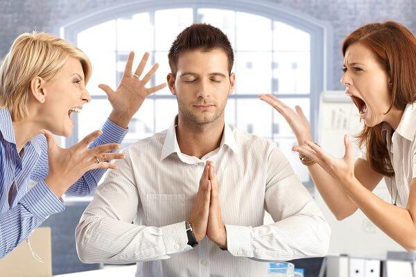 Как держать себя в руках во время спора