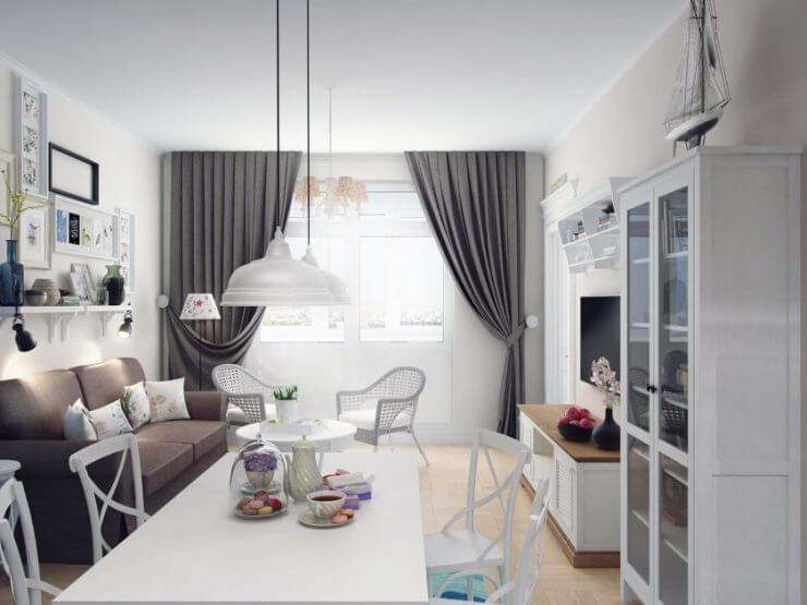 Дизайн трехкомнатной квартиры – уют и оригинальность.