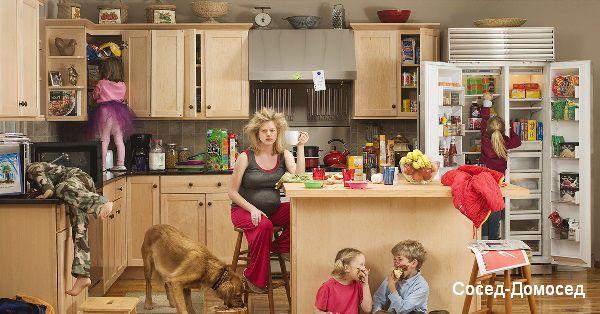 Многодетная мама: карьера или семья и дети?