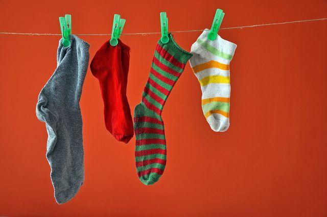 """Один носок в хозяйстве или вторая жизнь """"одинокого"""" носка."""