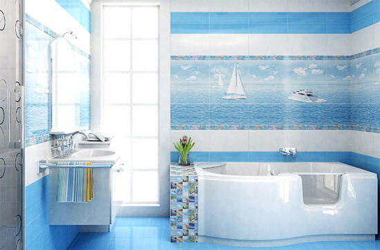 Картинки по запросу морская ванная.