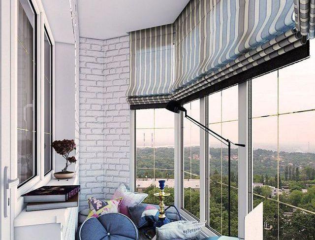 Шторы для балкона или на лоджию – какие подойдут и как выбрать?