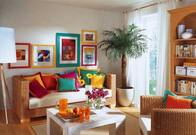 Как обновить интерьер квартиры без больших затрат.