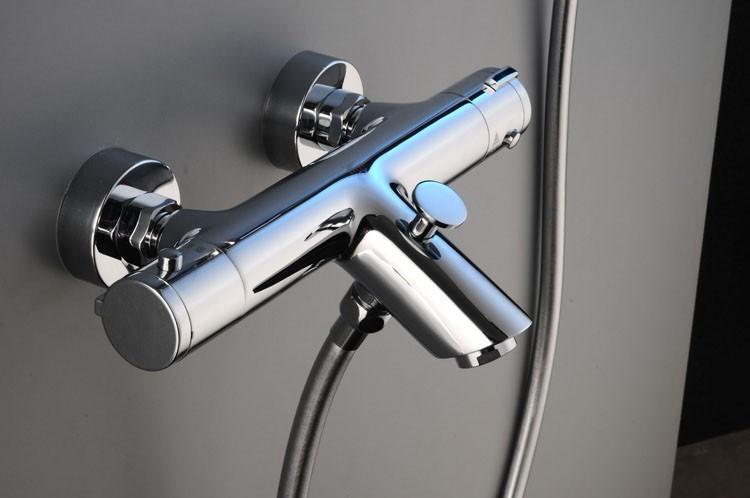 Смеситель с термостатом – комфорт при подаче воды.